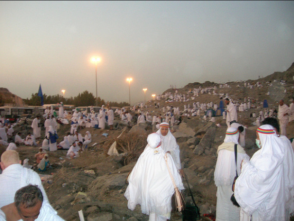 People will be sleeping in the open in Muzdalifah.