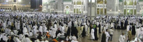 People perform hajj in all kinds of circumstances.