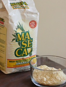 Maseca - a popular brand of masa harina