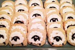 Gluten Free Sheep Eid Cookies