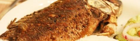 Pan-fried Whole Tilapia