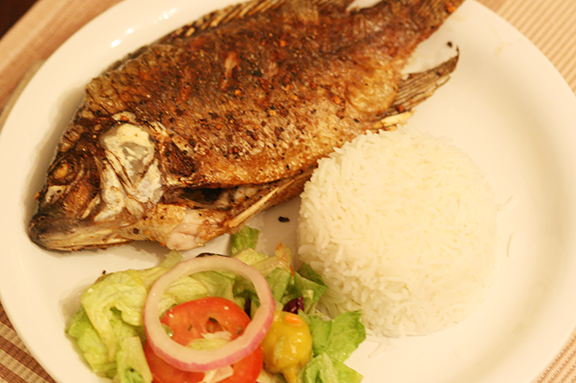 Pan fried whole tilapia for Deep fried whole fish