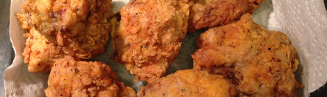 Crispy, Golden Fried Chicken