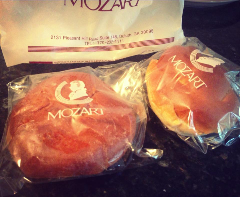 Mozart Bakery Bean Buns