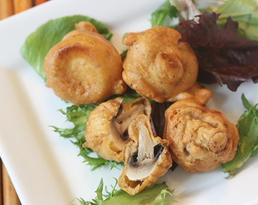 Mushroom Pakoras
