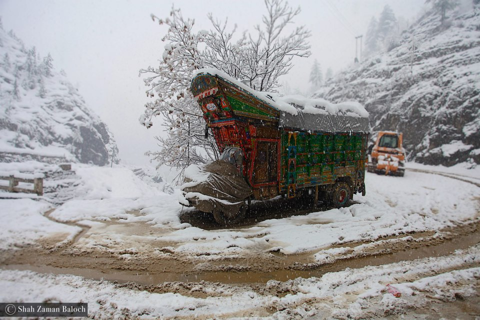 Ice Road Truckers, Pakistan! Photography by Shah Zaman Baloch. Visit his page at https://www.facebook.com/shahzamanbaloch1?fref=ts.