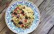 Zucchini & Red Pepper Pasta