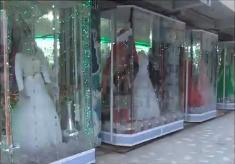 Afghani Wedding Couture in Peshawar