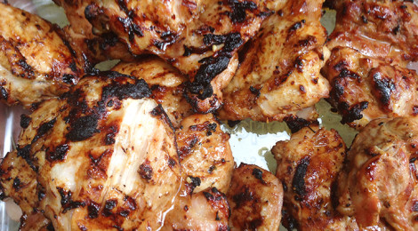 Grilled Honey Chili Chicken